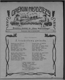 """Opiekun Młodzieży : bezpłatny dodatek do """"Głosu Wąbrzeskiego"""" 1927.01.06, R. 4, nr 1"""