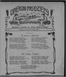 """Opiekun Młodzieży : bezpłatny dodatek do """"Głosu Wąbrzeskiego"""" 1927.01.20, R. 4, nr 3"""