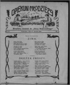 """Opiekun Młodzieży : bezpłatny dodatek do """"Głosu Wąbrzeskiego"""" 1927.01.27, R. 4, nr 4"""