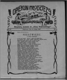 """Opiekun Młodzieży : bezpłatny dodatek do """"Głosu Wąbrzeskiego"""" 1927.02.24, R. 4, nr 8"""