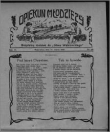 """Opiekun Młodzieży : bezpłatny dodatek do """"Głosu Wąbrzeskiego"""" 1927.03.17, R. 4, nr 10"""