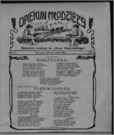 """Opiekun Młodzieży : bezpłatny dodatek do """"Głosu Wąbrzeskiego"""" 1927.03.31, R. 4, nr 12"""