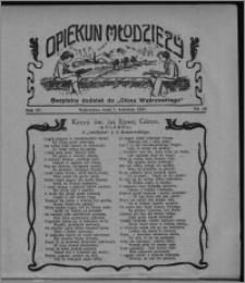 """Opiekun Młodzieży : bezpłatny dodatek do """"Głosu Wąbrzeskiego"""" 1927.04.07, R. 4, nr 13"""