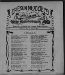 """Opiekun Młodzieży : bezpłatny dodatek do """"Głosu Wąbrzeskiego"""" 1927.04.14, R. 4, nr 14"""
