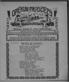 """Opiekun Młodzieży : bezpłatny dodatek do """"Głosu Wąbrzeskiego"""" 1927.04.21, R. 4, nr 15"""