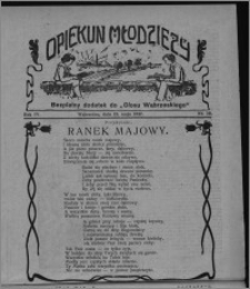 """Opiekun Młodzieży : bezpłatny dodatek do """"Głosu Wąbrzeskiego"""" 1927.05.19, R. 4, nr 19"""