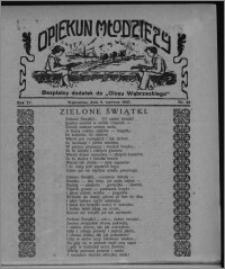 """Opiekun Młodzieży : bezpłatny dodatek do """"Głosu Wąbrzeskiego"""" 1927.06.09, R. 4, nr 22"""