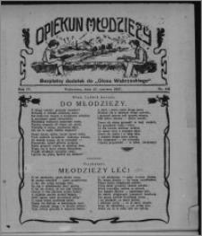 """Opiekun Młodzieży : bezpłatny dodatek do """"Głosu Wąbrzeskiego"""" 1927.06.23, R. 4, nr 24"""