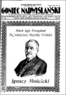 Goniec Nadwiślański 1927.08.03, R. 3 nr 175