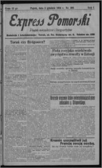 Express Pomorski : pismo niezależne i bezpartyjne 1924.12.05, R. 1, nr 205