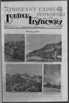 Codzienny Express Pomorski. Dodatek Ilustrowany 1925.03.01, R. 1, nr 8