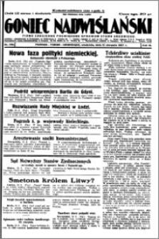 Goniec Nadwiślański 1927.08.21, R. 3 nr 190