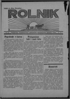 """Rolnik : dodatek poświęcony sprawom rolniczym : organ T.R.P. : dodatek do """"Głosu Wąbrzeskiego"""" 1934, R. 4, nr 5"""