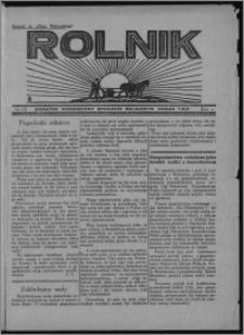 """Rolnik : dodatek poświęcony sprawom rolniczym : organ T.R.P. : dodatek do """"Głosu Wąbrzeskiego"""" 1934, R. 4, nr 9"""
