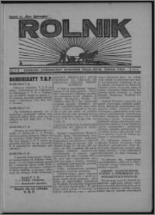 """Rolnik : dodatek poświęcony sprawom rolniczym : organ T.R.P. : dodatek do """"Głosu Wąbrzeskiego"""" 1934, R. 2 [i.e. 4], nr 14"""