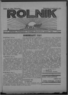 """Rolnik : dodatek poświęcony sprawom rolniczym : organ T.R.P. : dodatek do """"Głosu Wąbrzeskiego"""" 1934.10.18, R. 2 [i.e. 4], nr 19"""