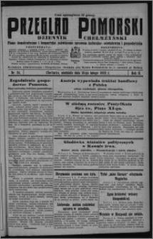 Przegląd Pomorski : dziennik chełmżyński : pismo demokratyczne i bezpartyjne poświęcone sprawom kulturalno-oświatowym i gospodarczym 1929.02.10, R. 2, nr 34 + Strzecha Rodzinna nr 6