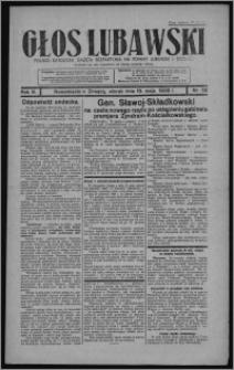 Głos Lubawski : polsko-katolicka gazeta bezpartyjna na powiat lubawski i okolice 1936.05.19, R. 3, nr 58