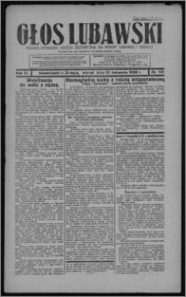 Głos Lubawski : polsko-katolicka gazeta bezpartyjna na powiat lubawski i okolice 1936.11.10, R. 3, nr 131
