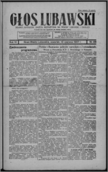 Głos Lubawski : polsko-katolicka gazeta bezpartyjna na powiat lubawski i okolice 1937.06.10, R. 6 [i.e. 4], nr 66