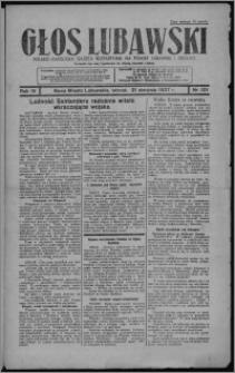 Głos Lubawski : polsko-katolicka gazeta bezpartyjna na powiat lubawski i okolice 1937.08.31, R. 4, nr 101