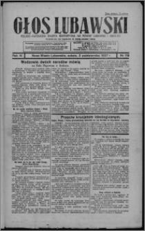 Głos Lubawski : polsko-katolicka gazeta bezpartyjna na powiat lubawski i okolice 1937.10.02, R. 4, nr 115