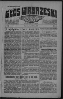 Głos Wąbrzeski 1925.02.10, R. 6, nr 18