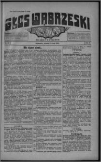 Głos Wąbrzeski 1925.05.14, R. 5 [i.e. 6], nr 57