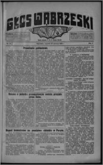 Głos Wąbrzeski 1925.06.25, R. 5 [i.e. 6], nr 74