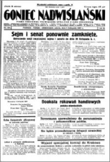 Goniec Nadwiślański 1927.11.05, R. 3 nr 254
