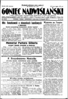 Goniec Nadwiślański 1927.11.09, R. 3 nr 257