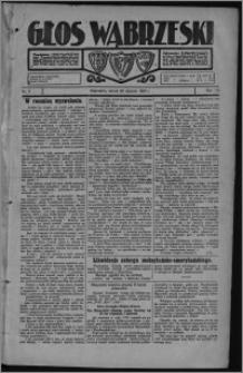 Głos Wąbrzeski 1927.01.25, R. 7, nr 11