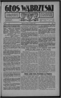 Głos Wąbrzeski 1927.08.09, R. 7, nr 91