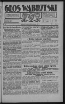 Głos Wąbrzeski 1927.10.20, R. 7, nr 121