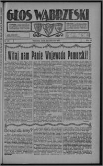 Głos Wąbrzeski 1927.10.22, R. 7, nr 122 + dodatek powieściowy