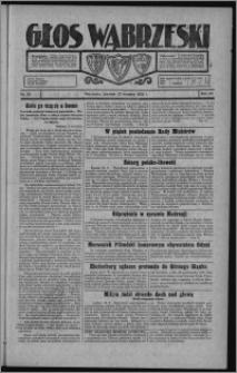 Głos Wąbrzeski 1928.09.20, R. 8, nr 110