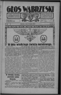 Głos Wąbrzeski 1928.11.10, R. 8, nr 132