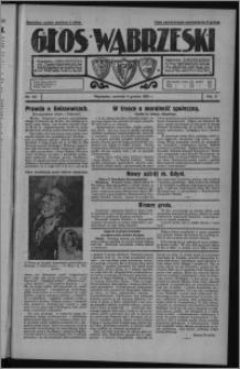 Głos Wąbrzeski 1930.12.04, R. 10, nr 142