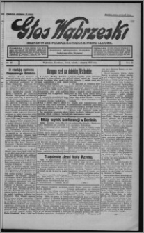 Głos Wąbrzeski : bezpartyjne polsko-katolickie pismo ludowe 1931.08.01, R. 11, nr 89