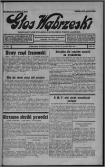 Głos Wąbrzeski : bezpartyjne polsko-katolickie pismo ludowe 1932.12.22, R. 12, nr 149