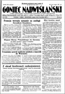 Goniec Nadwiślański 1927.12.02 R. 3 nr 277