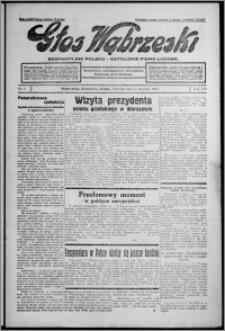 Głos Wąbrzeski : bezpartyjne polsko-katolickie pismo ludowe 1935.01.10, R. 16, nr 5