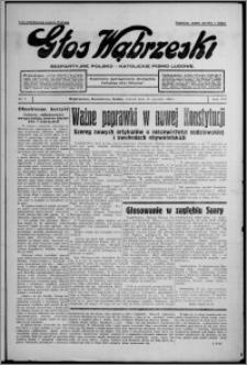 Głos Wąbrzeski : bezpartyjne polsko-katolickie pismo ludowe 1935.01.15, R. 16, nr 7