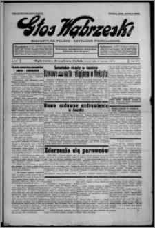 Głos Wąbrzeski : bezpartyjne polsko-katolickie pismo ludowe 1935.01.29, R. 16, nr 13