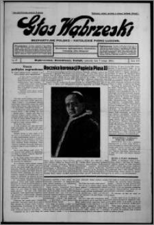 Głos Wąbrzeski : bezpartyjne polsko-katolickie pismo ludowe 1935.02.07, R. 16, nr 17