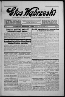 Głos Wąbrzeski : bezpartyjne polsko-katolickie pismo ludowe 1935.02.28, R. 16, nr 26