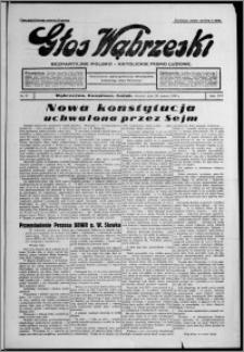 Głos Wąbrzeski : bezpartyjne polsko-katolickie pismo ludowe 1935.03.26, R. 16, nr 37