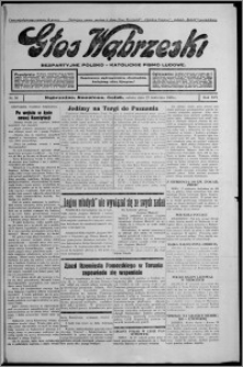 Głos Wąbrzeski : bezpartyjne polsko-katolickie pismo ludowe 1935.04.27, R. 16, nr 50