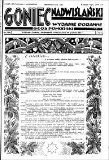 Goniec Nadwiślański 1927.12.25 R. 3 nr 296
