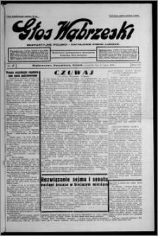 Głos Wąbrzeski : bezpartyjne polsko-katolickie pismo ludowe 1935.07.11, R. 16, nr 80 [i.e. 81]